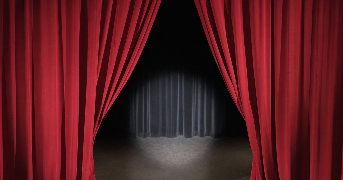 Sistema casero para abrir y cerrar telones de escenarios - Que cortinas se llevan ...