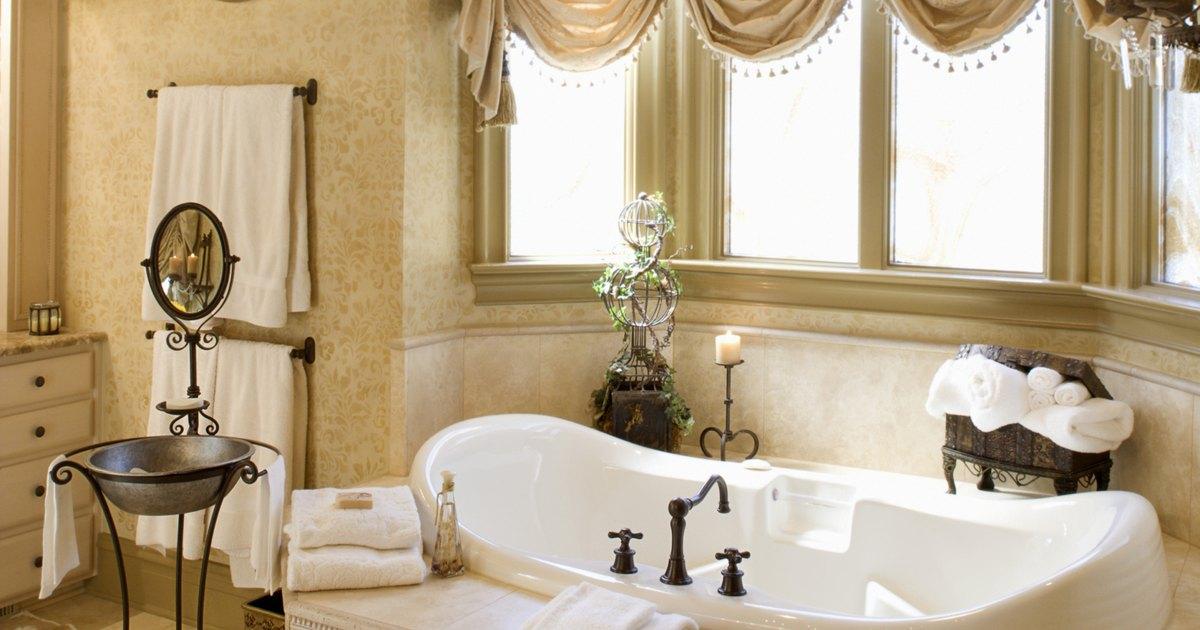 C mo decorar un viejo cuarto de ba o ehow en espa ol - Como decorar un cuarto de bano ...