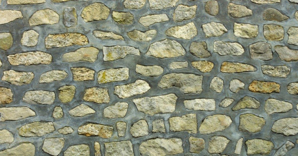 Qu tipo de mortero puedo usar para un muro con piedras - Hacer pared de piedra ...