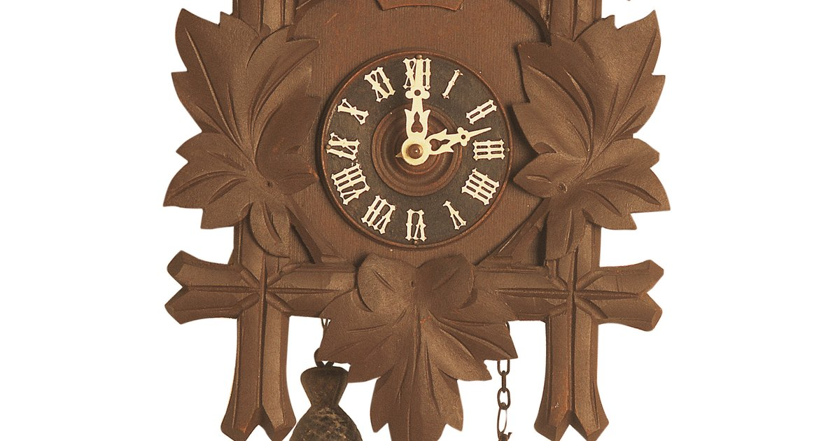 How To Adjust The Pendulum In The Cuckoo Clock To Keep