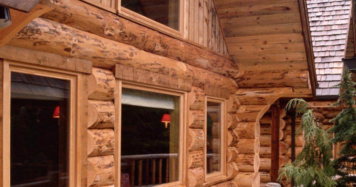Las desventajas de construir una casa de madera ehow en - Casas de madera en alcorcon ...