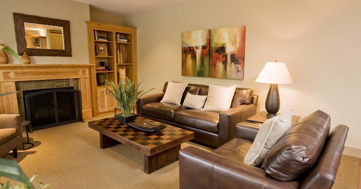 Windowless Living Room Idea
