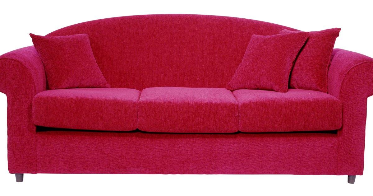 C mo limpiar tapicer a de sof s y sillas ehow en espa ol - Como limpiar un sofa ...