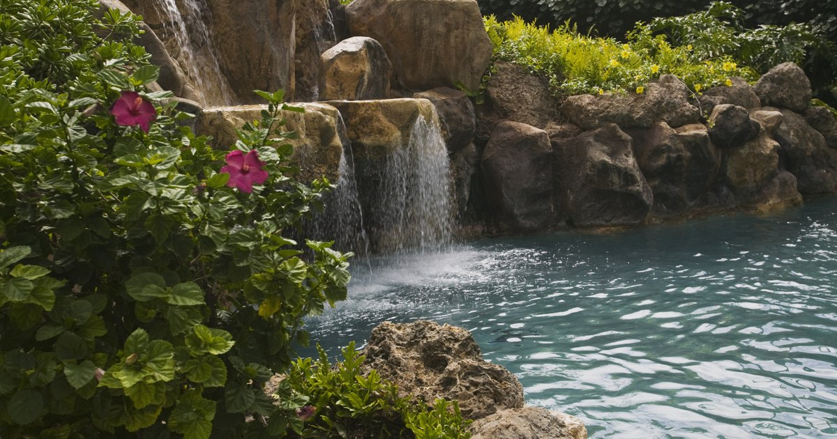 Landscape rocks used to build ponds ehow uk for Landscaping rocks pinellas county