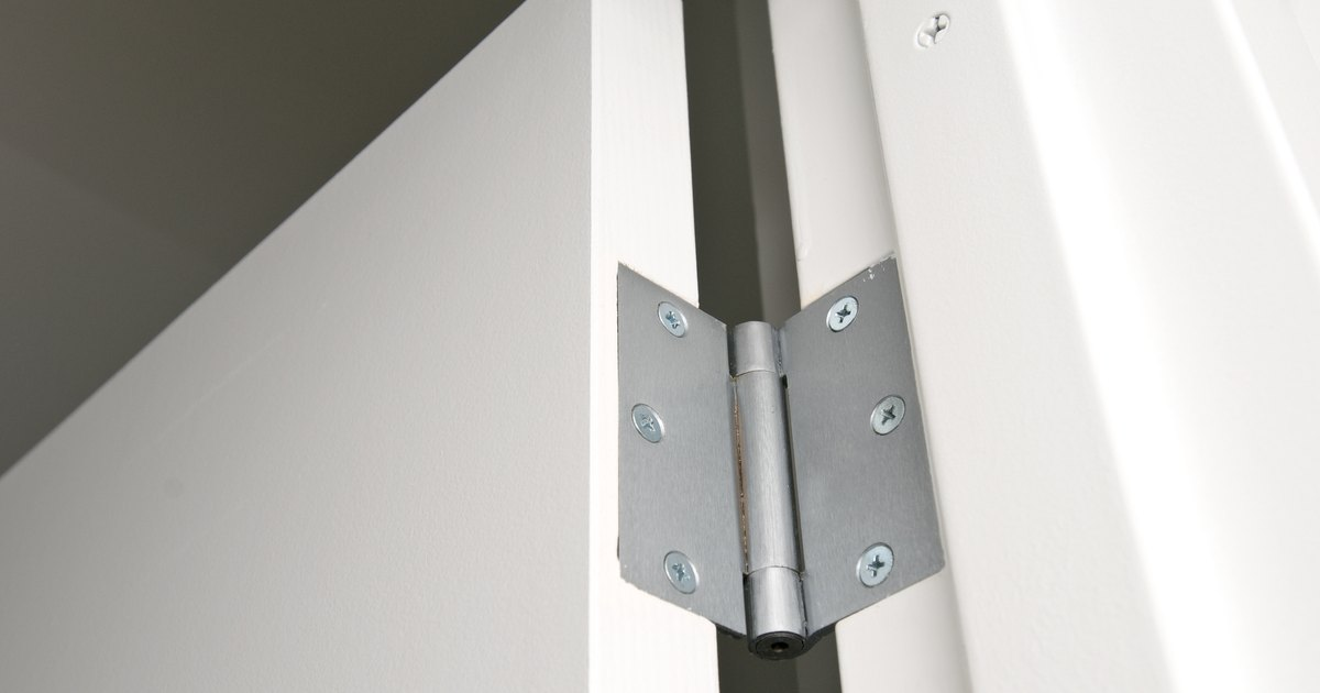 How To Remove Spring Loaded Door Hinge Pins Ehow Uk