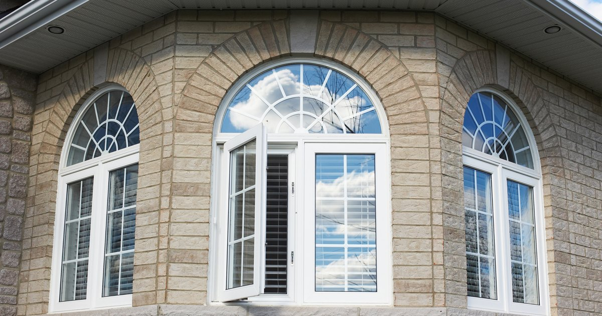 How to trim an arch top window ehow uk for Arch top windows