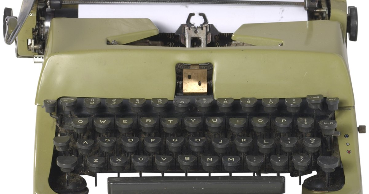 how to fix one key on typewriter