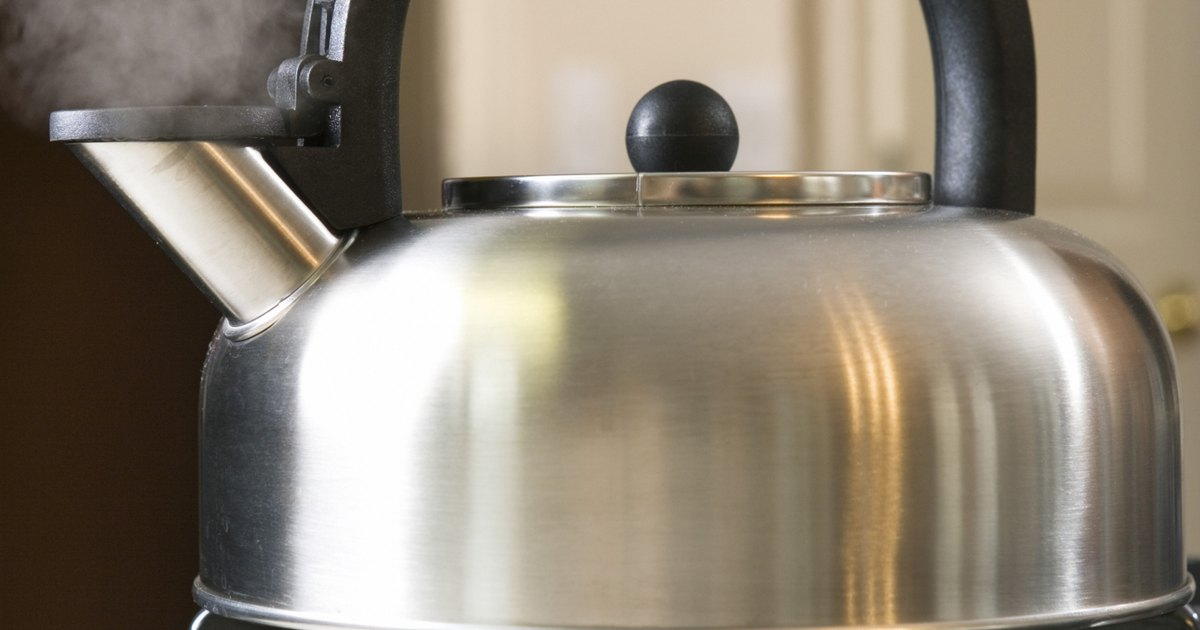 How to Clean the Outside of Stainless Steel Tea Kettle ...