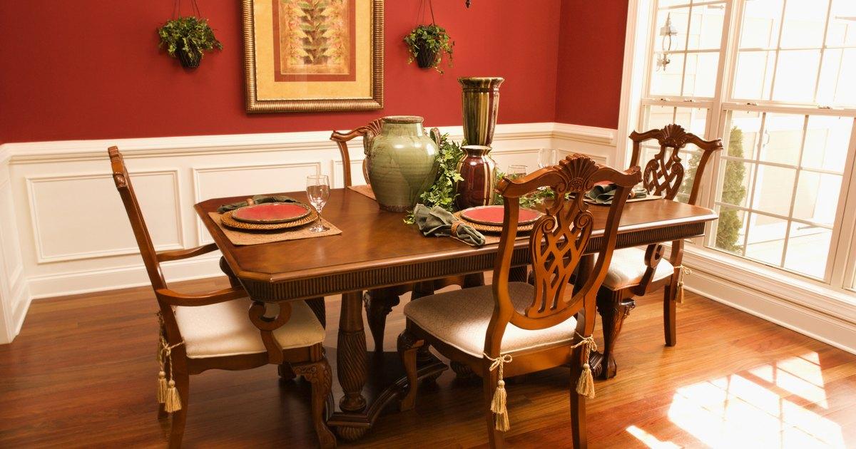 Partes de una mesa de comedor ehow en espa ol for Partes de una mesa