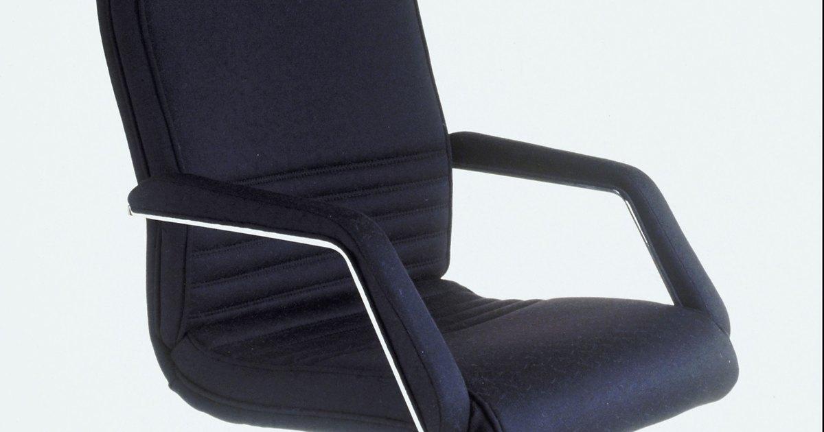 Silla de oficina para reducir el dolor de espalda ehow - Sillas para la espalda ...