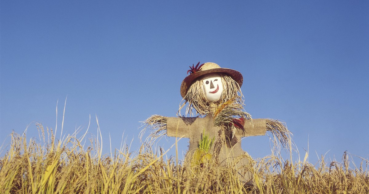 easy instructions to make a scarecrow