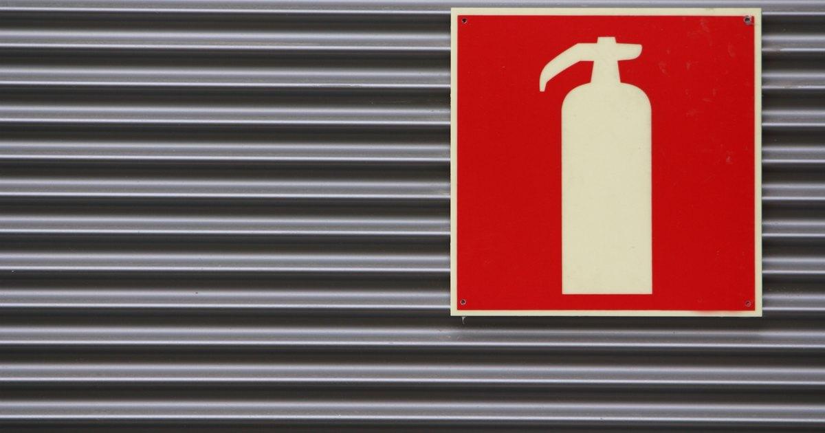 eficacia de un extintor: