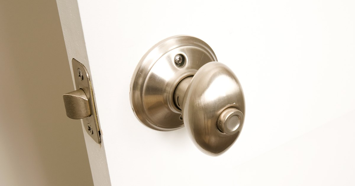 Push Button Door Handle