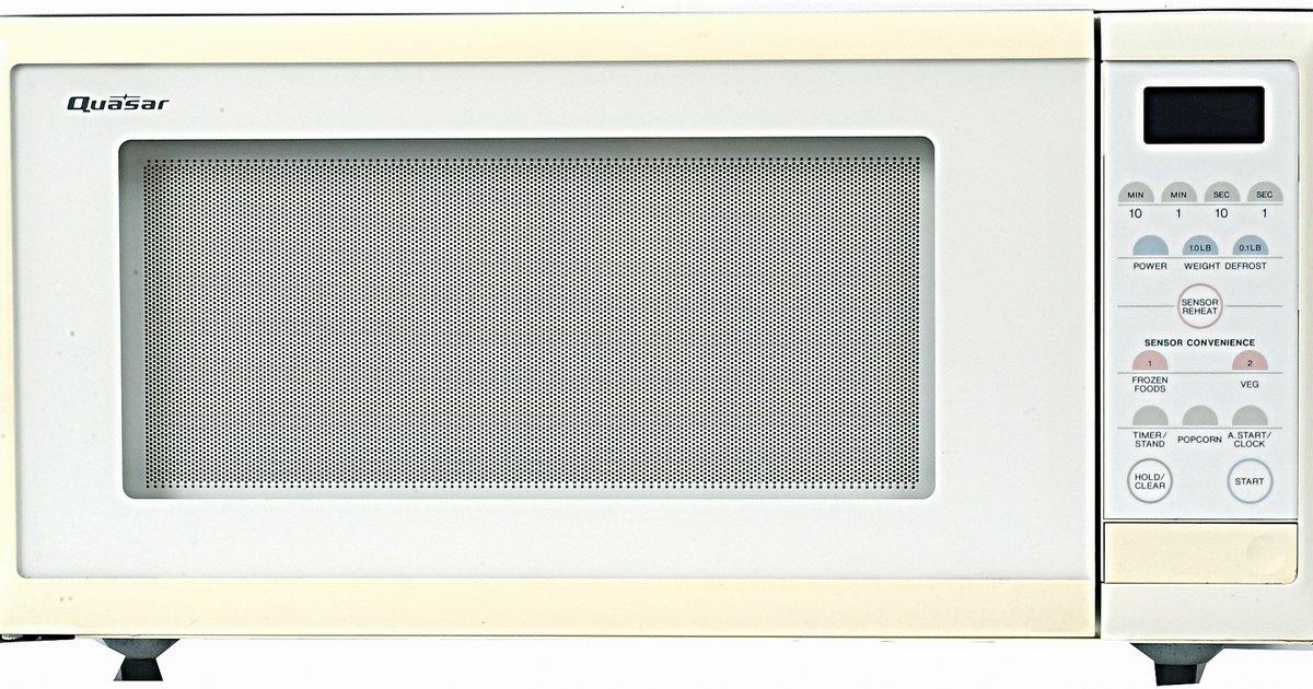 wie man in einer mikrowelle samsung mt1066sb die gl hbirne wechselt ehow deutschland. Black Bedroom Furniture Sets. Home Design Ideas