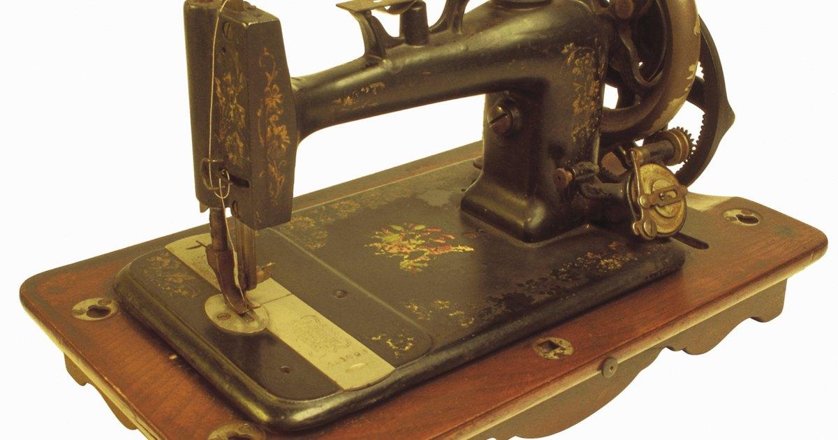 Cómo saber en qué año se fabricó una máquina de coser