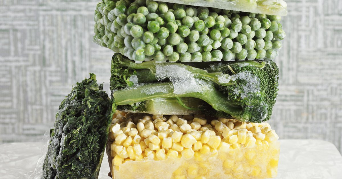 C mo cocinar las verduras congeladas para conservar los for Como cocinar verduras
