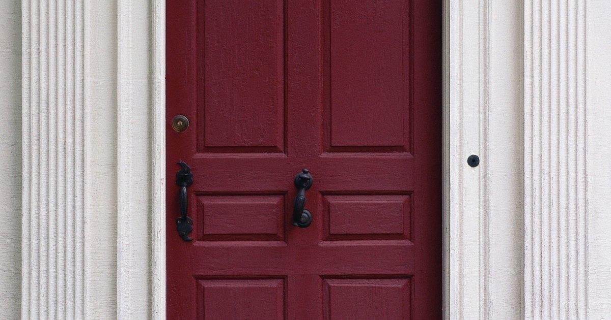 Qu tipo de pintura y pintura base se utilizan en una - Pintura para puertas ...