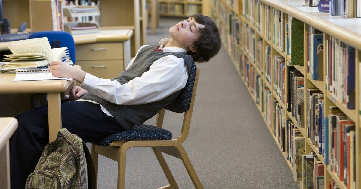 C mo lidiar con el cansancio por estudiar ehow en espa ol - Como concentrarse en estudiar ...