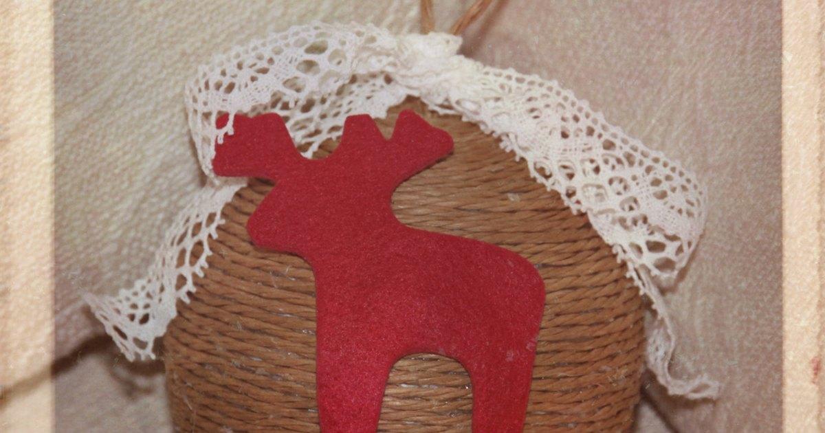 Adornos naturales de navidad hechos a mano ehow en espa ol - Adornos de navidad hechos a mano ...