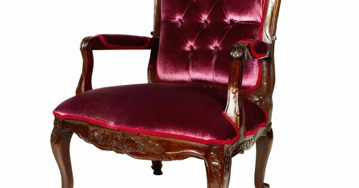 C mo reparar una silla antig a con asiento de resortes - Como arreglar el asiento de una silla ...