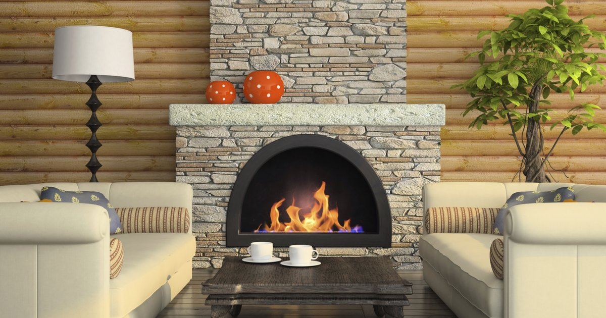 How to reface brick fireplaces with plaster ehow uk - How to make a brick fireplace look modern ...