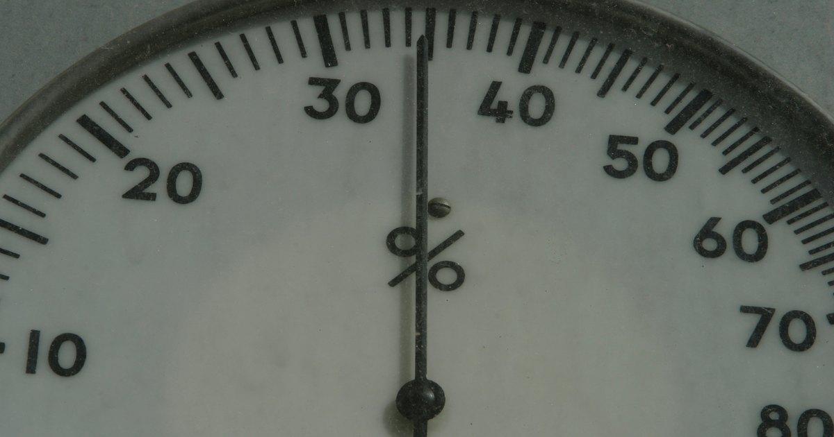 Qu porcentaje de humedad deber a tener tu casa ehow for Humedad ideal en casa
