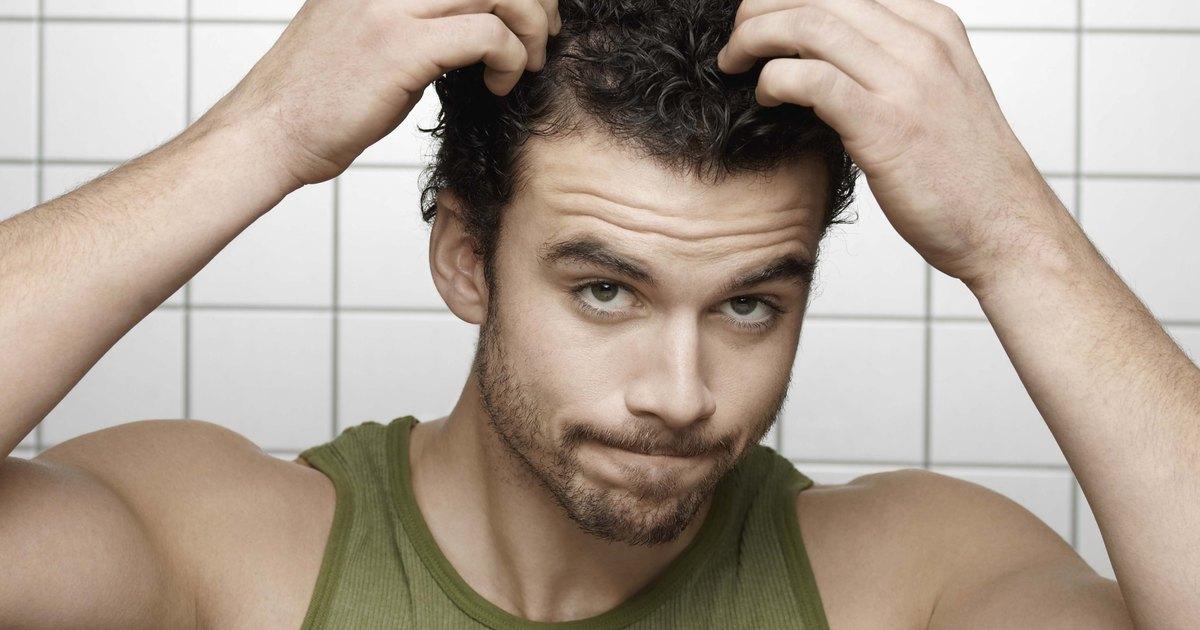 Como hacer el efecto mojado de los cabello del medio