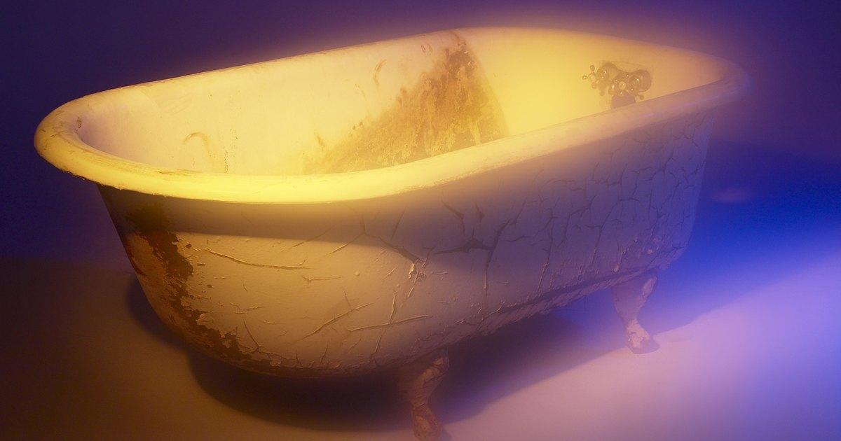bañera frotar