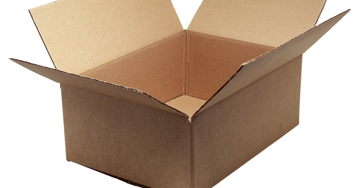 How to make a pyramid out of a cardboard box ehow uk for How to make a letterbox out of cardboard