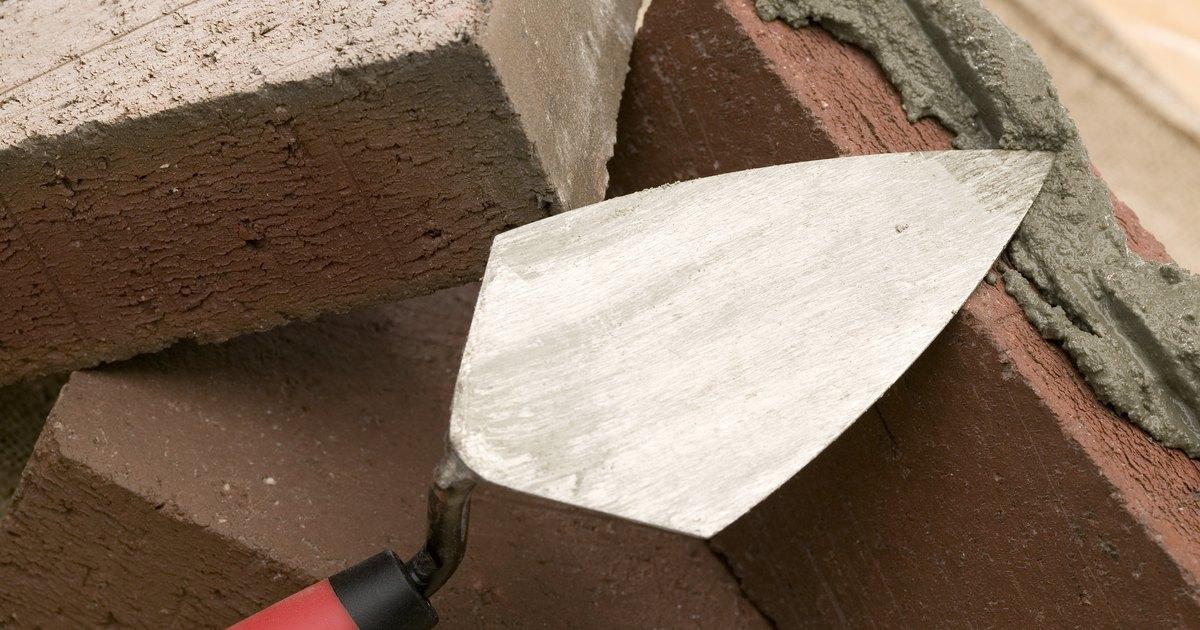 Proporciones de mezclas de mortero para alba iler a ehow for Mortero de cemento