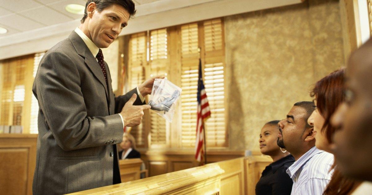 ¿Qué es un jurado de juicio? | eHow en Español