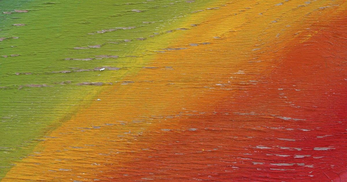 C mo pintar un mural de arco ris ehow en espa ol for Como pintar un mural