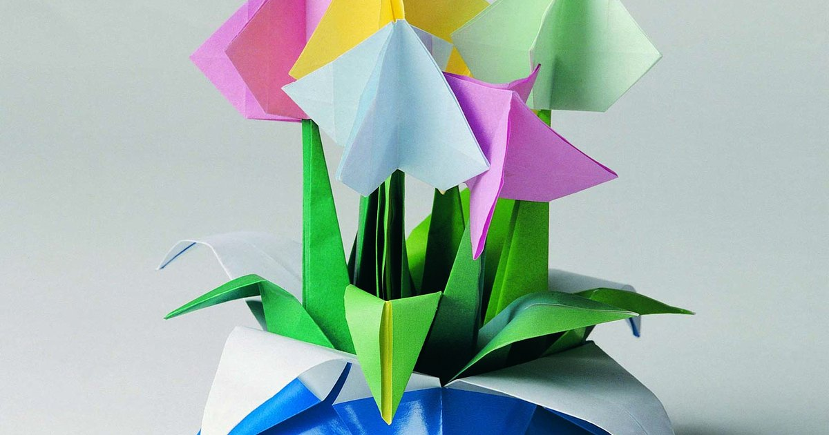 origami flower instructions for beginners