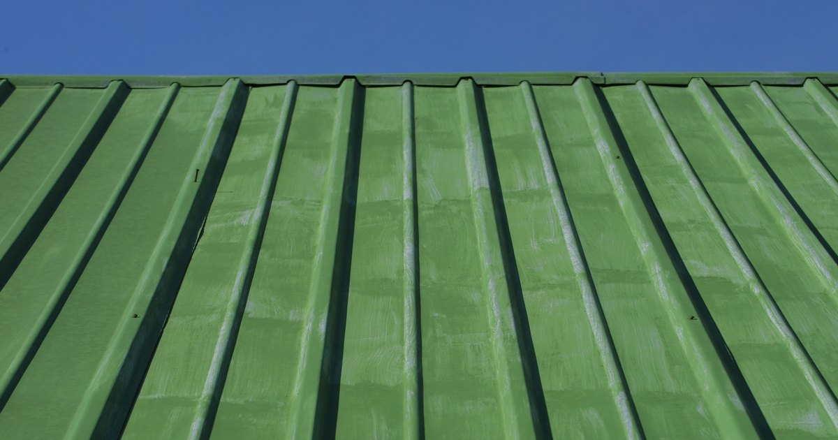 What Colours Go With A Green Metal Roof Ehow Uk