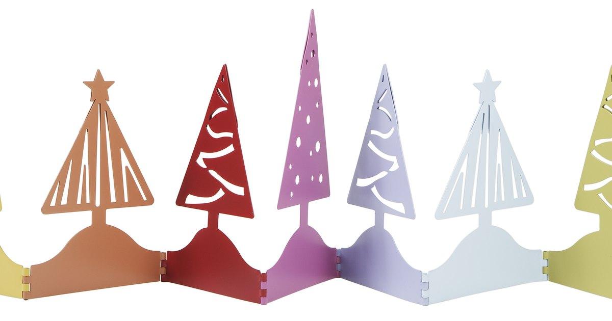 Proyecto de artesan as con cintas para hacer un rbol de - Cintas arbol navidad ...