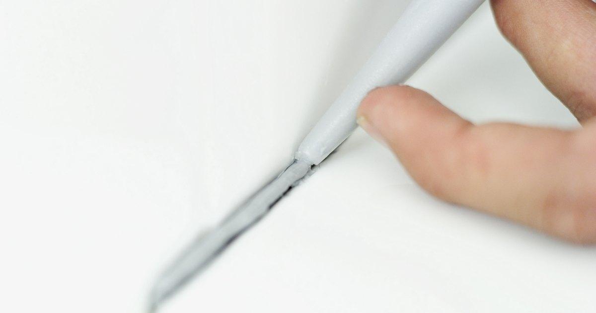 C mo quitar la silicona del cristal ehow en espa ol - Como quitar silicona de la pared ...