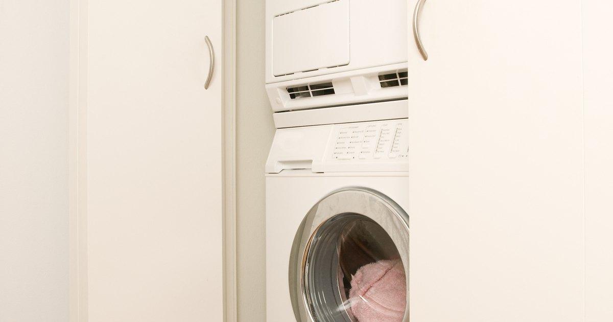 Expectativa de vida de una lavadora y secadora apiladas - Secadora encima lavadora ...