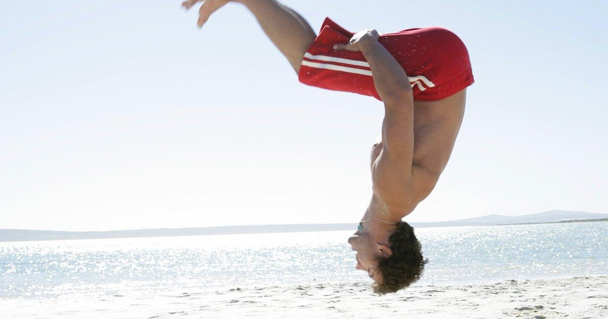 How to Do a Beginner's Backflip