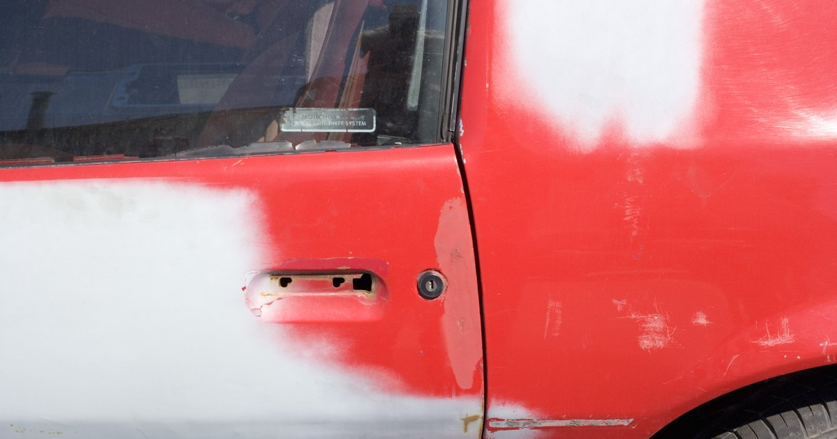 how to fix up a scratch on car