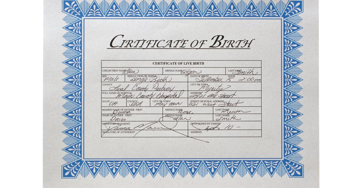 How Can I Get A Copy Of My Mother's Birth Certificate