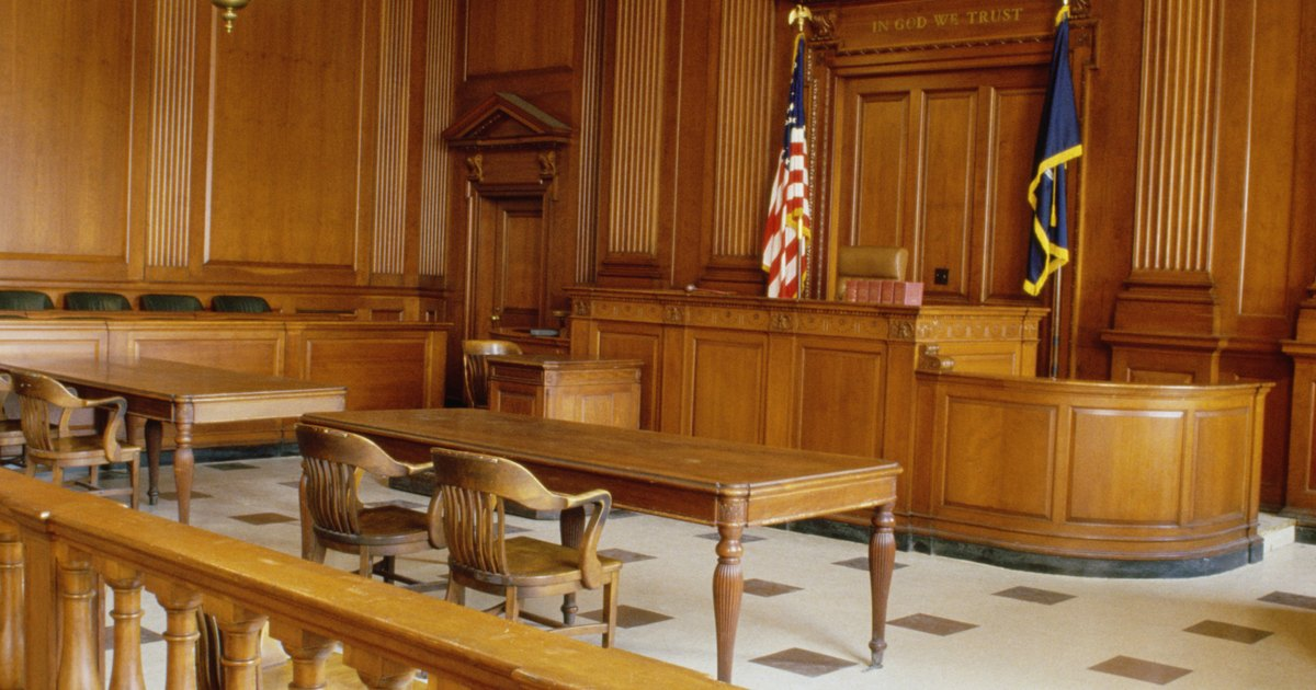 How to Write a Courtroom Scene in a Novel | eHow UK