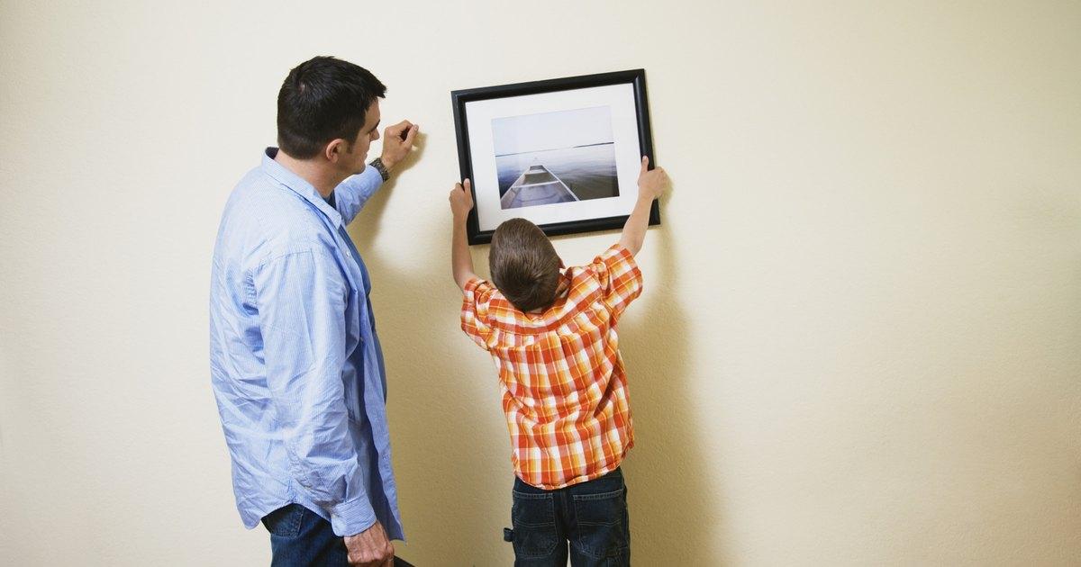 Altura para colgar cuadros en la habitaci n de un ni o - Altura para colgar tv ...