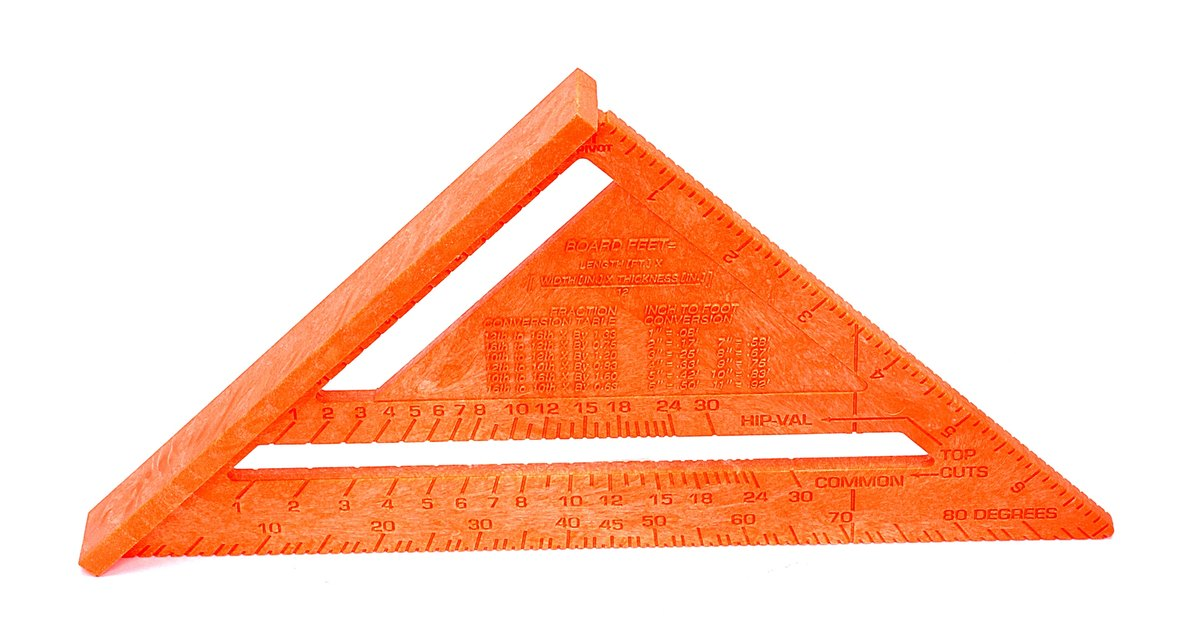 How To Measure Roof Pitch With A Speed Square Ehow Uk