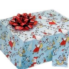 la hoja de msica funciona como papel de envoltura para hacer un regalo musical gift box christmas giftpresent image by l shat from fotoliacom