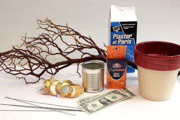 Como fazer uma árvore de dinheiro