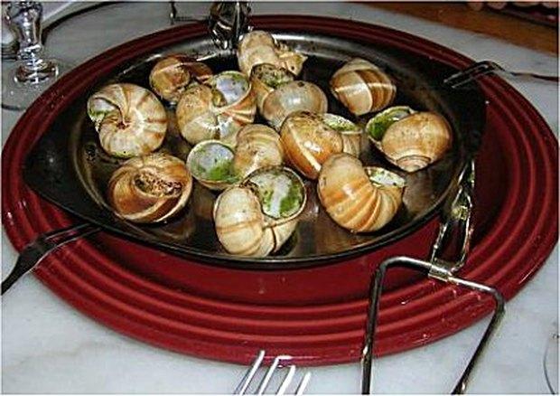 Como preparar caracóis de jardim para comer