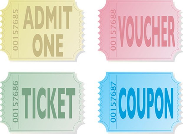 How To Make Numbered Tickets In Ms Word | Ehow Uk