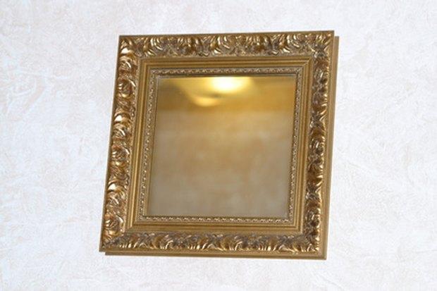 ideas para pintar el marco del espejo