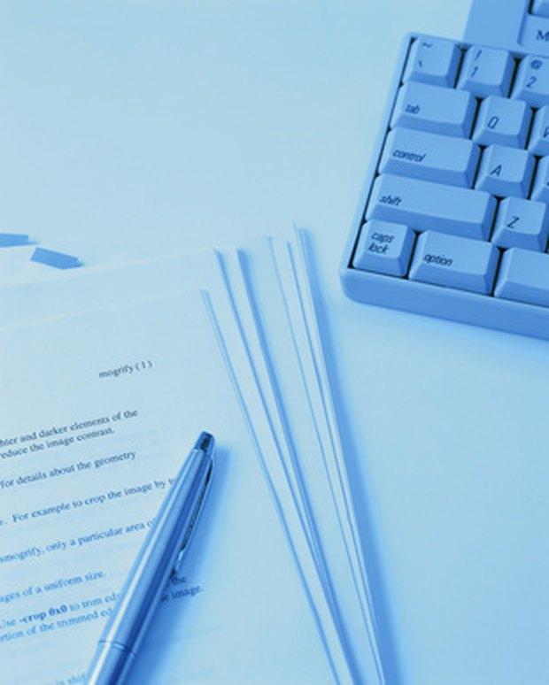 e business term paper