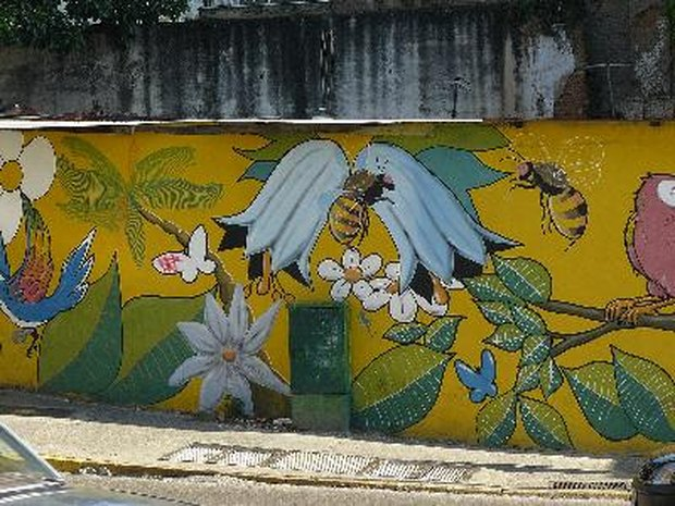 Murales exteriores materiales de construcci n para la for Jardines murales